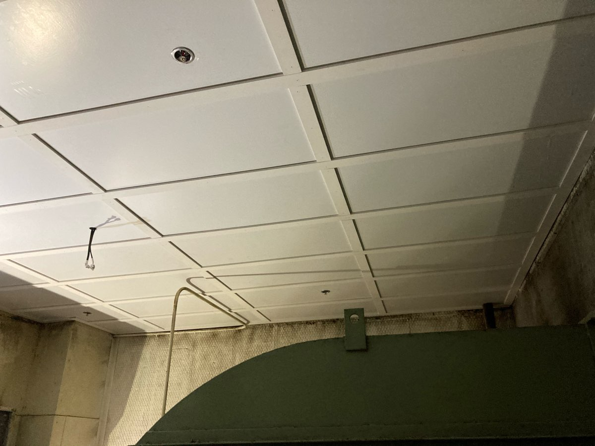 Air Conditioning Plant Room Ceiling Replacement