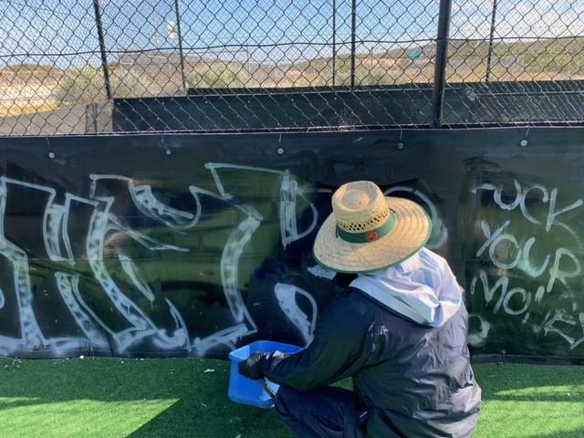 Graffiti Removal – Eglington
