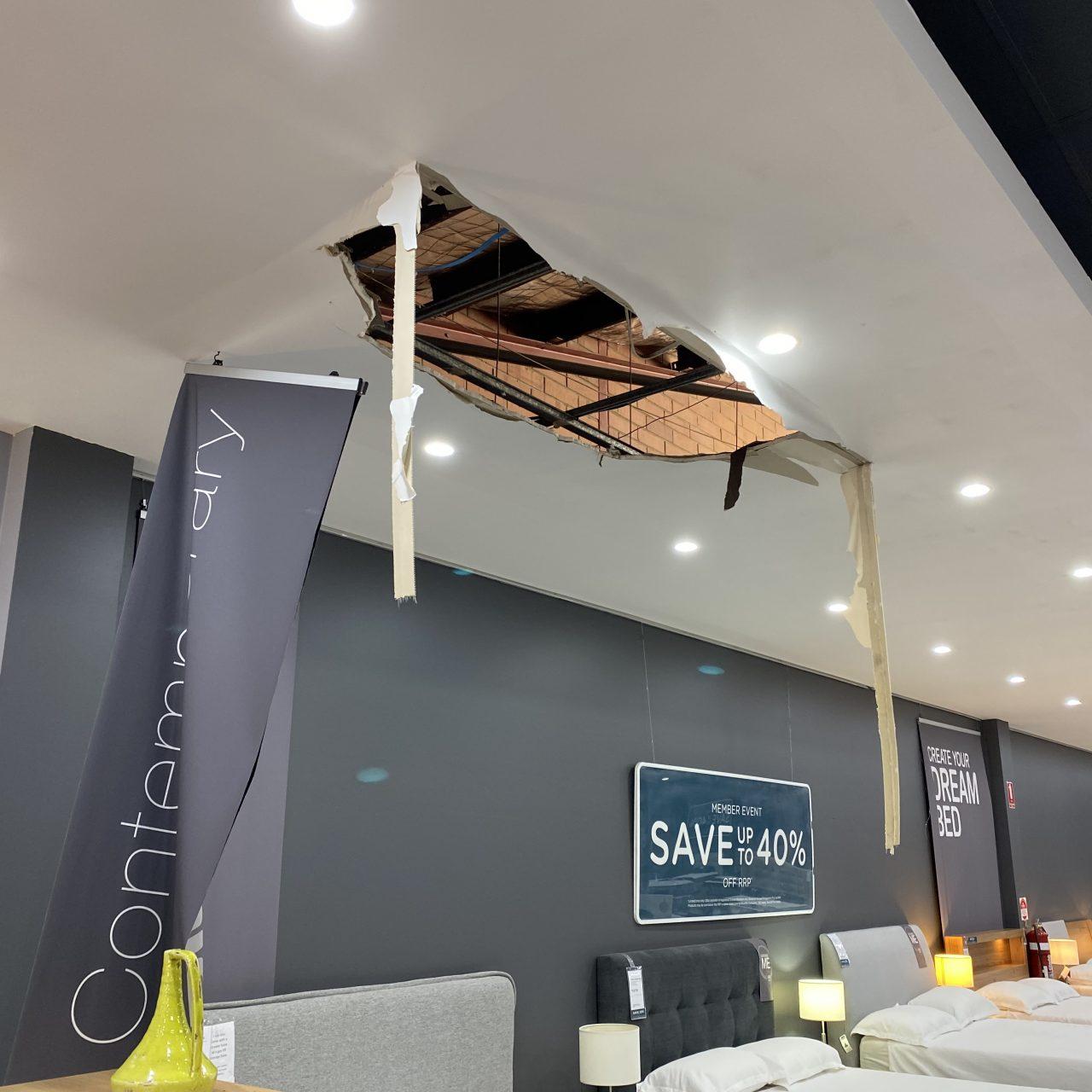 Ceiling Make Safe and Make Good – Osborne Park